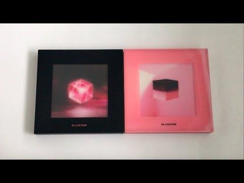 ♡Unboxing BLACKPINK 블랙핑크 1st Mini Album Square Up 스퀘어업 (Black & Pink Ver.)♡
