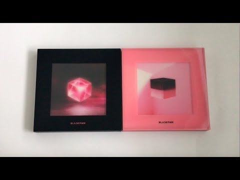 ♡Unboxing BLACKPINK 블랙핑크 1st Mini Album Square Up 스퀘어업 (Black & Pink Ver.)♡