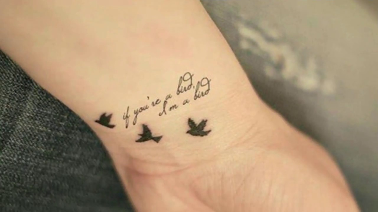Bird Tattoo Designs Symbol Of Freedom Youtube
