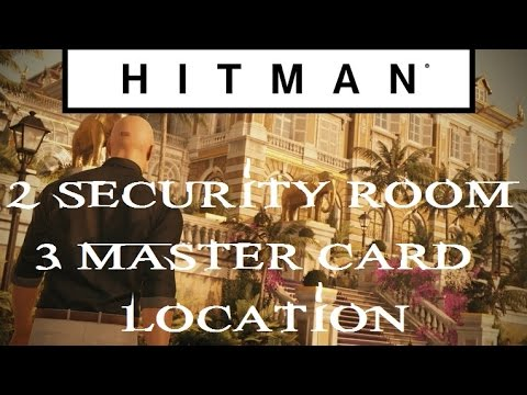 Hitman Club 27 Security 2 Room 3 Master Card Location