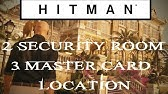 Hitman 2016 Bangkok Security Room Infilitration Youtube