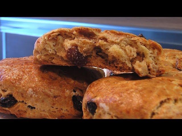 Печенье с изюмом без сахара. Очень вкусно!