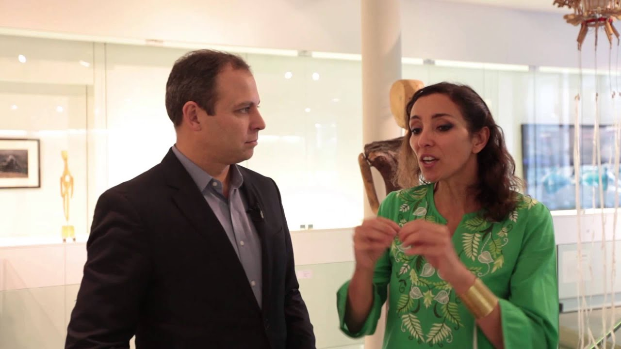 COP21 Hub Culture Paris 2015 Interview with Naziha Mestaoui - 1Heart1Tree