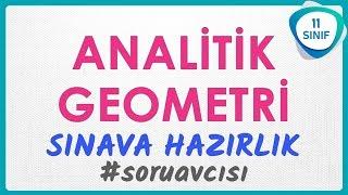 Analitik Geometri Sınava Yazılıya Hazırlık | 11. Sınıf Soru Avcısı 1 #soruavcısı