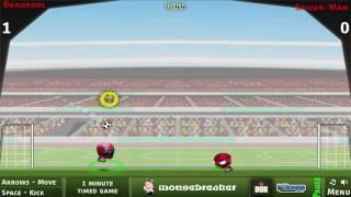 Sports Heads MARVEL - Futebol Fight