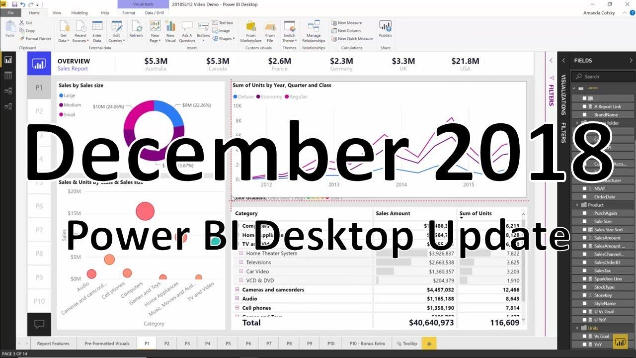 Previous monthly updates to Power BI Desktop - Power BI