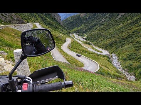 Balade moto : col du Saint-Gothard/Route de Tremola - Suisse (18 août 2016)