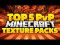TOP 5 Minecraft PvP Texture Packs/Resource Packs