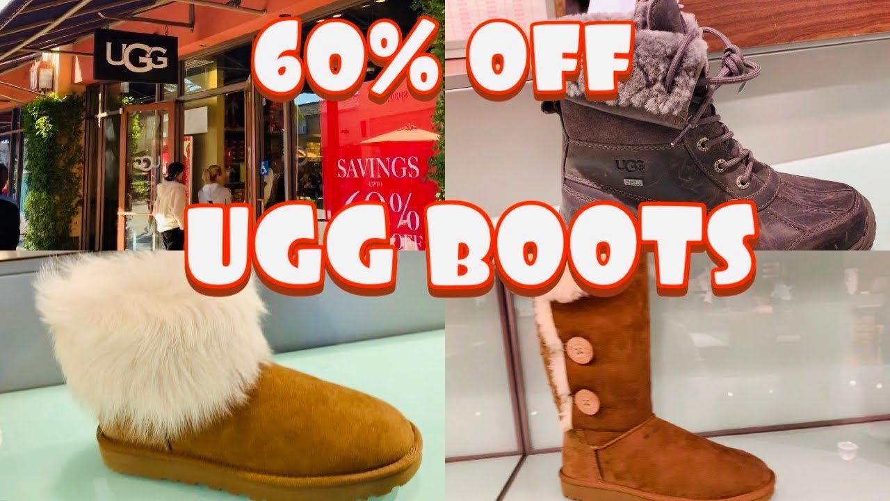 UGG BOOTS // UGG OUTLET SHOP WITH ME