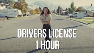 drivers license - Olivia Rodrigo (1 HOUR LOOP)