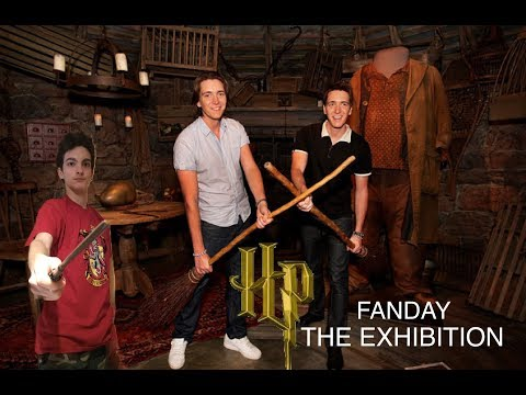 FANDAY HARRY POTTER THE EXHIBITION MILANO + JAMES E OLIVER PHELPS
