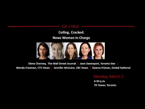 Ceiling, Cracked? News Women in Charge