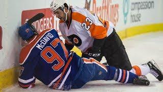 NHL Crashing Into Boards