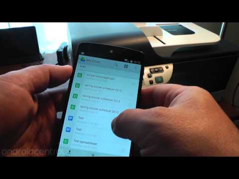 Printing In Android 4.4 KitKat (with Some Help From HP)
