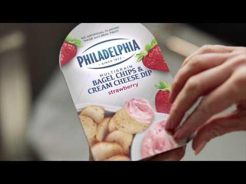 The Alternative | PHILADELPHIA Bagel Chips and Cream Cheese Dip