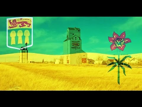 Hodgeville - Home of the Sask Flag
