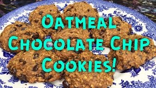 Ro's Vegan Chocolate Chip Oatmeal Cookies! (low Fat) + How To Make A Flax Egg!