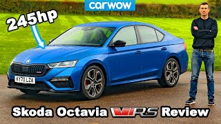 Skoda Octavia vRS review - better than a Golf GTI?