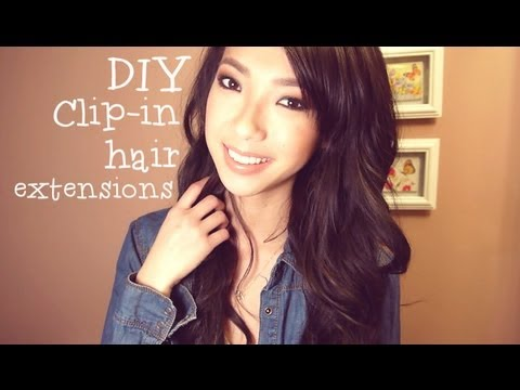 Diy clip in hair extensions giveaway closed youtube pmusecretfo Choice Image