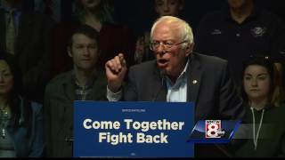 Bernie Sanders, DNC chair kick off tour with rally in Portland