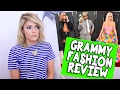 GRAMMY FASHION REVIEW // Grace Helbig