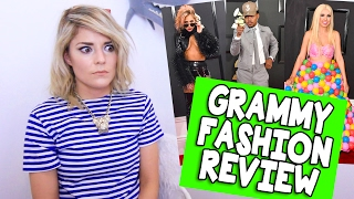 grammy fashion review grace helbig