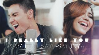 Repeat youtube video I Really Like You/Kamulah Satu-Satunya MASHUP- Sam Tsui, Eka Gustiwana, Nadya Rafika