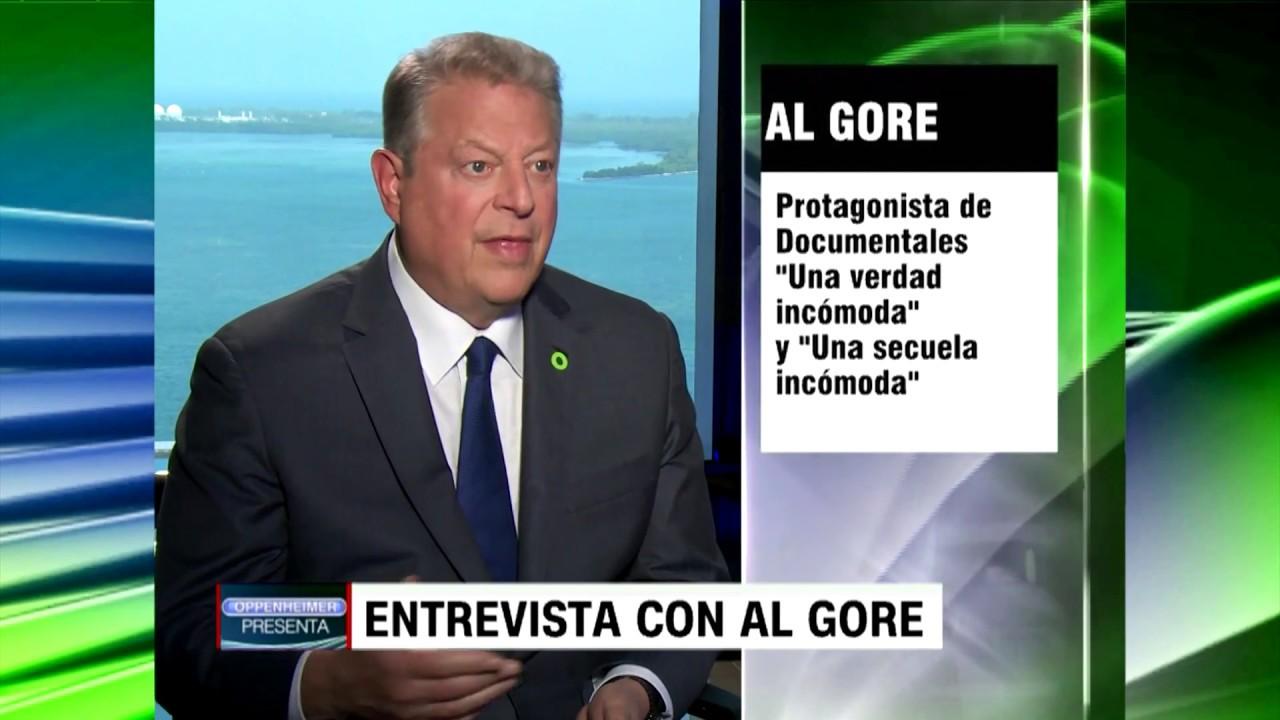 Entrevista con Al Gore, ¿Empeora el cambio climático?