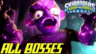 Skylanders Swap Force - ALL BOSSES