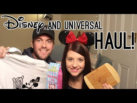 WALT DISNEY WORLD AND UNIVERSAL HAUL 2018!