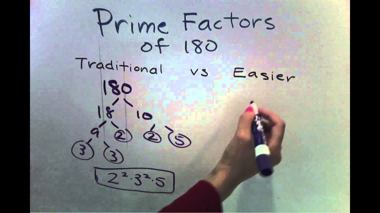 Prime Factorization for larger numbers (Easier Method) (5 of 7 ...