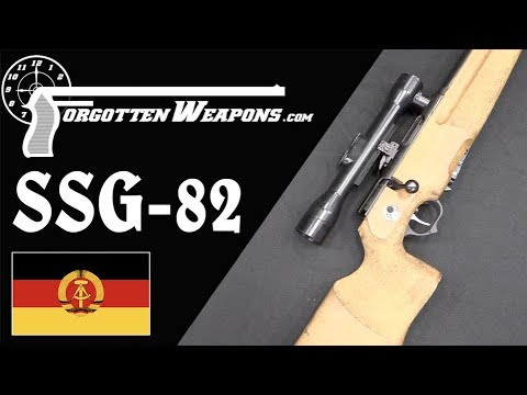 SSG-82: The Enigmatic East German Sniper Rifle - YouTube