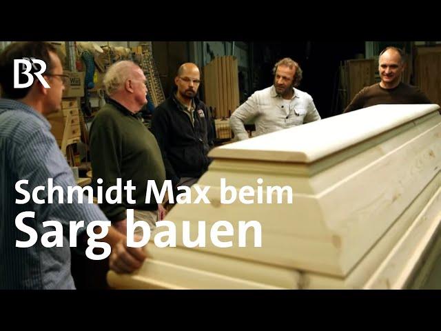 Sargbau-Seminar: Schmidt Max und die ewige Ruhe