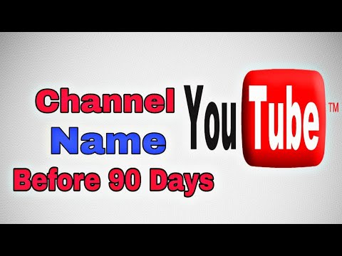 Youtube Channel Name Change Before 90 Days Trick| Technical Yasser