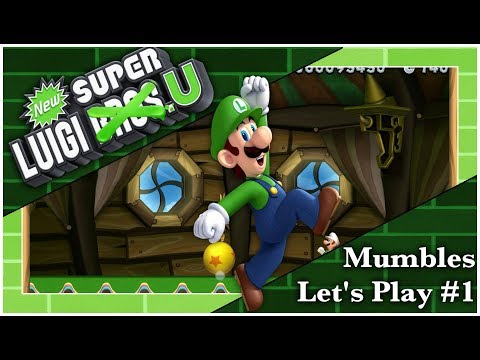 Luigi Time! - New Super Luigi U Deluxe - MumblesVideos Let's Play #1 from YouTube · Duration:  10 minutes 33 seconds