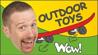 Outdoor Toys from Steve and Maggie | English for Children | English Stories for Kids thumbnail