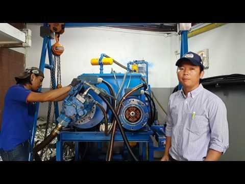 "Test Piston Pump""VICKER"" PVH131 @140 BAR#Repair Piston Pump Hydraulic. By V-Tech Engineering"