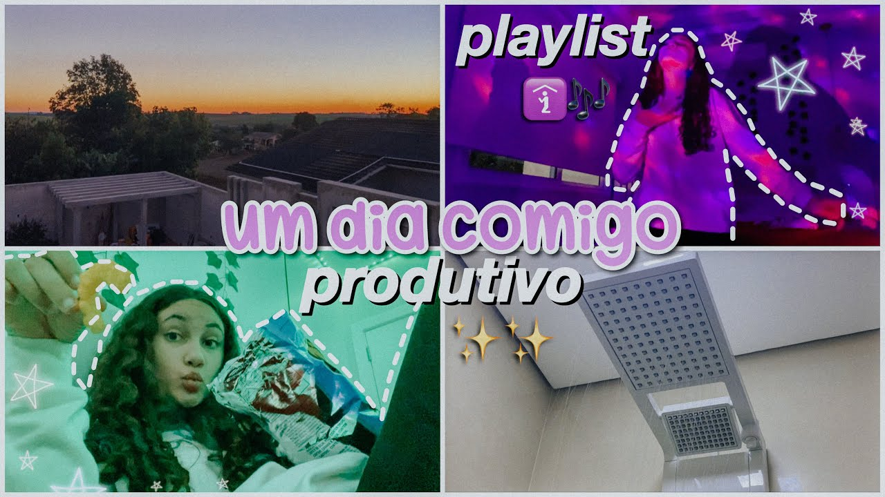 um final de semana comigo✨ ~produtivo, playlist, comidas~