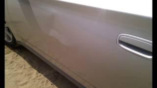 Toyota Celica ремонт передней двери без покраски(Профессиональное удаление вмятин, по немецкой технологии, без повреждения лакокрасочного покрытия. Сарато..., 2013-08-19T19:40:18.000Z)