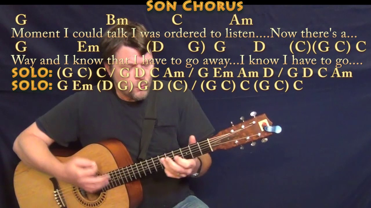 Father And Son Cat Stevens Guitar Cover Lesson With Chordslyrics