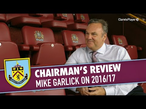 CHAIRMAN'S REVIEW | Mike Garlick On 2016/17