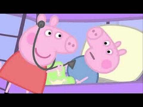 Πέππα το Γουρουνάκι Νέα Επεισόδια - Άρρωστη - pepa pig greek new