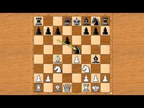 Pazite se vezanih figura u šahu  ~ FALKBEER vs NN # 1275