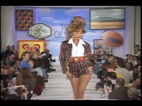 Tyra Banks on the Catwalk