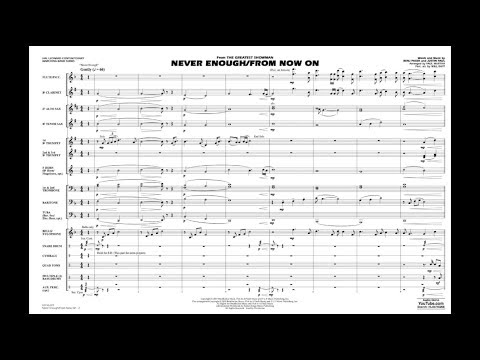 Never Enough/from Now On From The Greatest Showman Arr. Paul Murtha