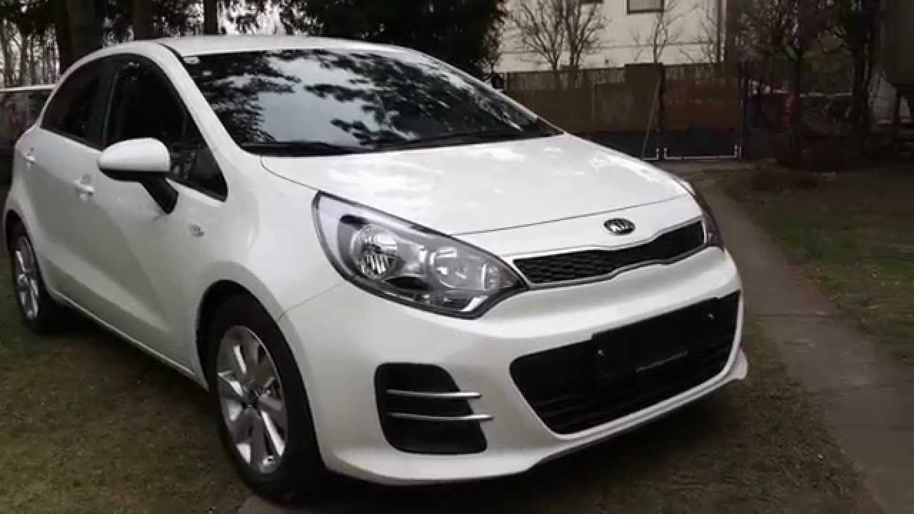 kia rio 1 25l silber 2015 facelift youtube. Black Bedroom Furniture Sets. Home Design Ideas
