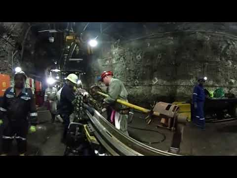 VR Inside South Africa Gold Mine