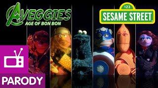 Repeat youtube video Sesame Street: The Aveggies- Age of Bon Bon (Avengers Parody)