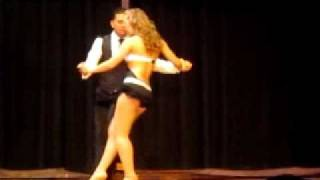 Видео: Kathy and Angelo De Torres - Toronto Bachata Festival 2011 - Prince Royce - Stand by me