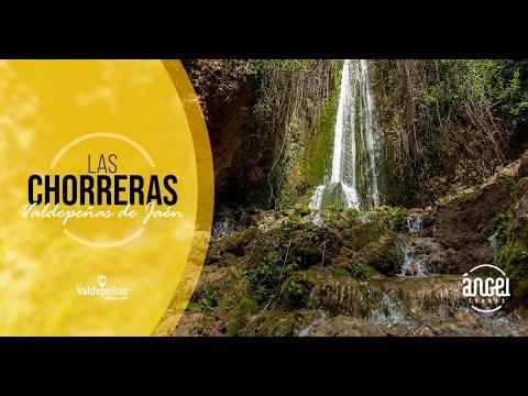 Las Chorreras de Valdepeñas de Jaén en Invierno